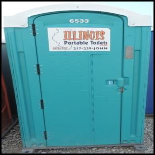Construction Porta Potty Rentals   Illinois Portable Toilets